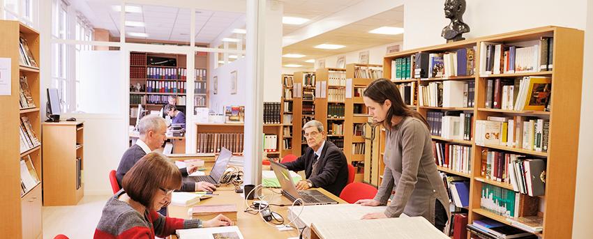 La bibliothèque M. Lapeyre