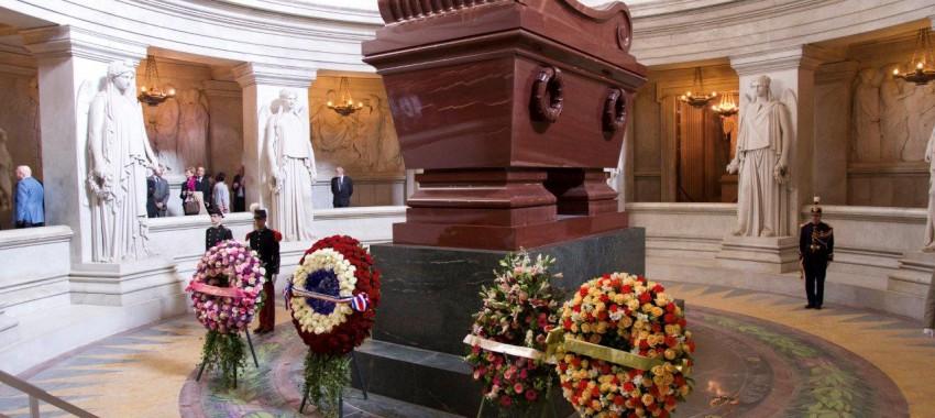 Memorial services for Napoleon Bonaparte