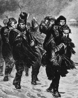 Sergent Benard. Souvenirs de 1812. Un prisonnier français en Russie