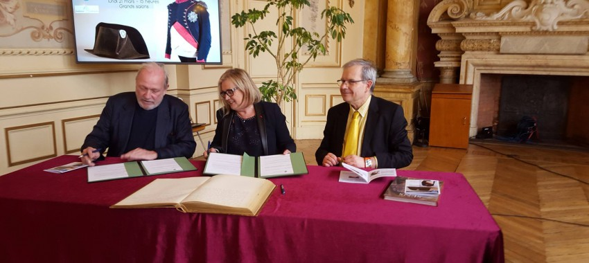 Partnership with the Museums of Sens (France)