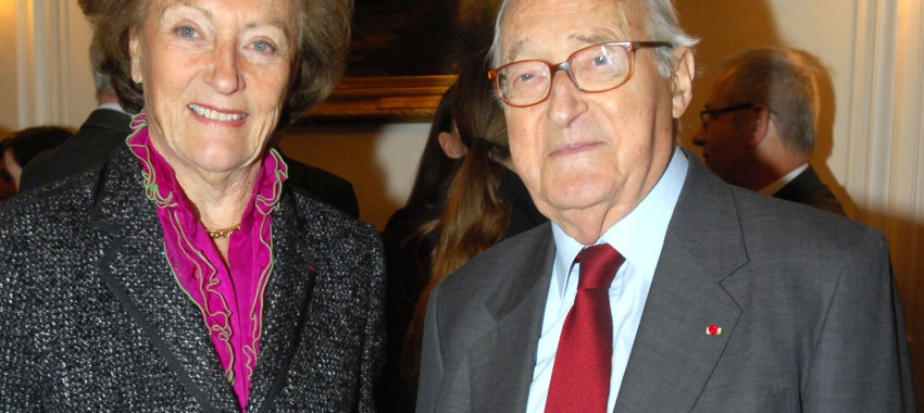 Death of Alain Decaux