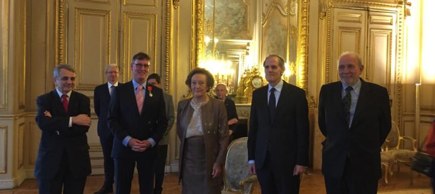 Michel Dancoisne-Martineau is awarded theLégion d'Honneur