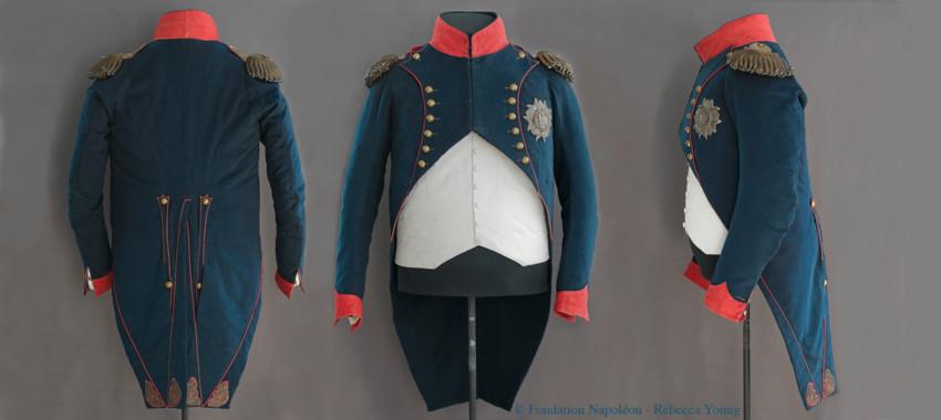 Souscription : une magnifique restauration de l'uniforme de Napoléon à Sainte-Hélène