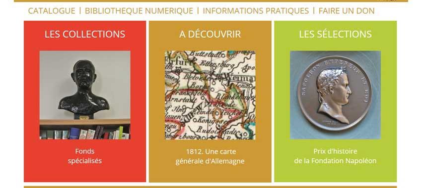 Mise en ligne du portail de la Bibliothèque Martial-Lapeyre