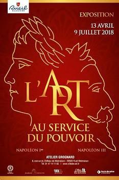 L'art au service du pouvoir. Napoléon Ier, Napoléon III