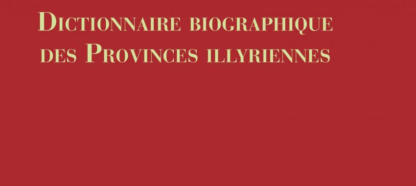 Mécénat édition : Napoléon dans l'Adriatique. Dictionnaire biographique des Provinces illyriennes