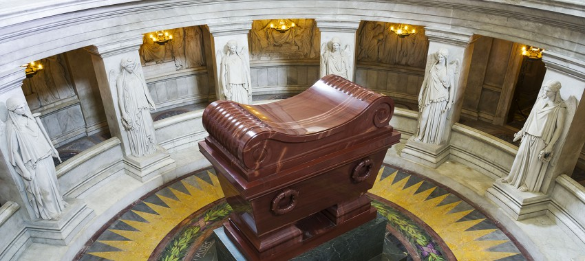 Target reached (and surpassed) for the international appeal for the restoration of the Tomb of Napoleon and the Napoleonic monuments of the Invalides