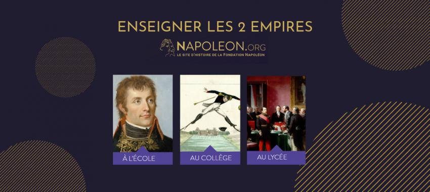 Enseignants > Une nouvelle section sur <em>napoleon.org</em> destinée aux professeurs