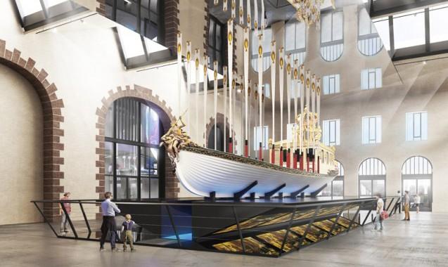 Mécénat > La restauration du canot de l'Empereur par le musée de la Marine