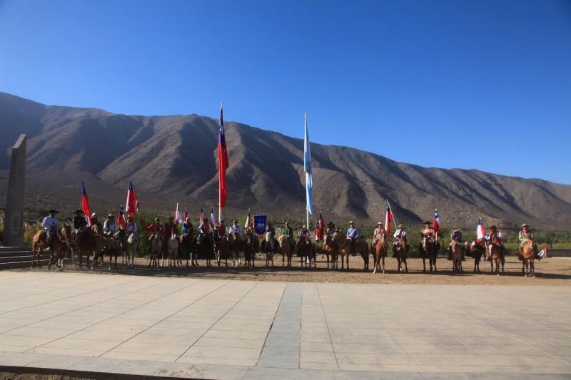 Lieu de commémoration de l'indépendance du Chili et de l'Argentine : Achupallas © Bicentenaire Chili-France
