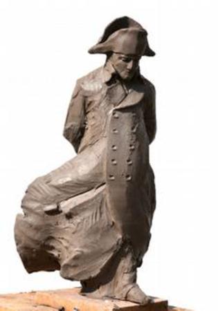 Statue de Napoléon à Montauban, en cours d'élaboration © SMLH 82