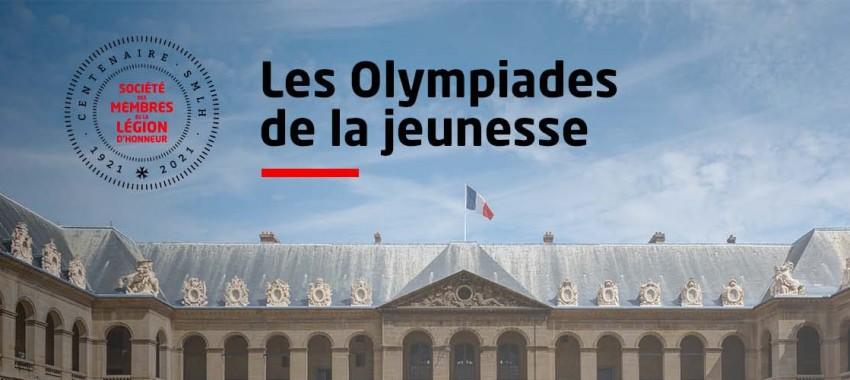 Participation de la Fondation Napoléon aux Olympiades de la jeunesse de la SMLH (mai-septembre 2021)