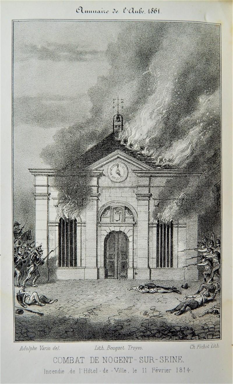 Episode de Nogent : campagne de France de 1814 © DR