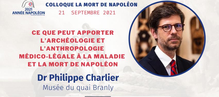 Colloque La mort de Napoléon, un événement «2021 Année Napoléon» (septembre 2021)